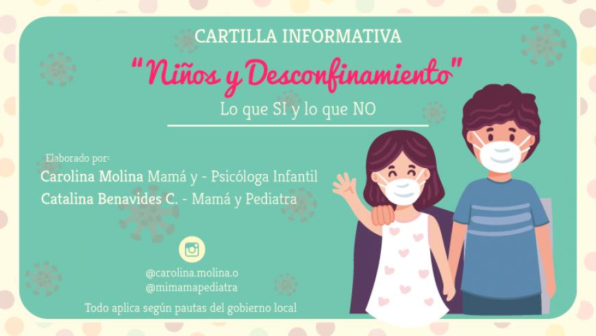 Cartilla Informativa «Niños y Desconfinamiento» Lo que SI y lo que NO